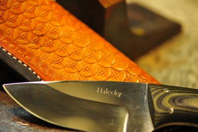 Halecky Blade & SteveB Sheath Combo