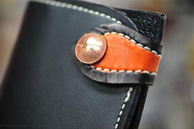 The OG - a custom chrome tan Long Bone Wallet by steveb