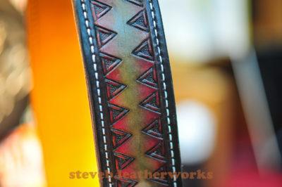 1.2.17.good sheperd guitar strap. wmark-4701