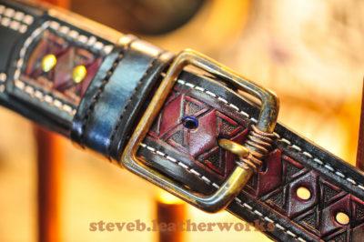 1.2.17.good sheperd guitar strap. wmark-4712